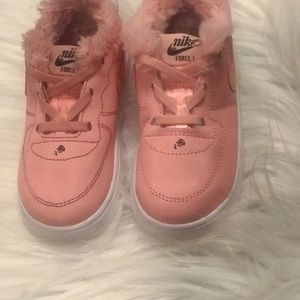 Nike Size 8 For toddler Girls . Runs Small